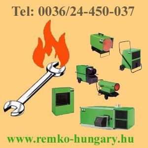 Remko-Hungary REMKO hőlégfúvók